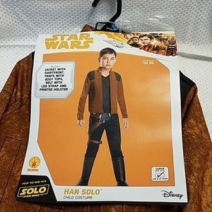 Star Wars Han Solo NWT child jumpsuit var. sizes